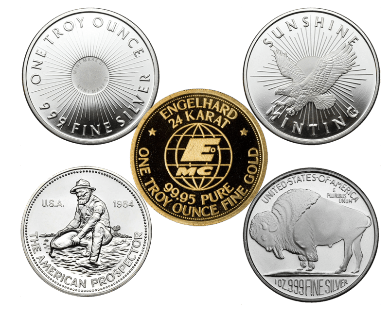 buy & sell gold and silver bullion South Florida