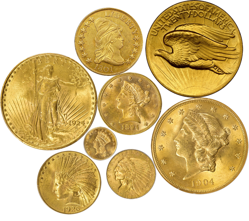 US Gold Coins - sell rare coins