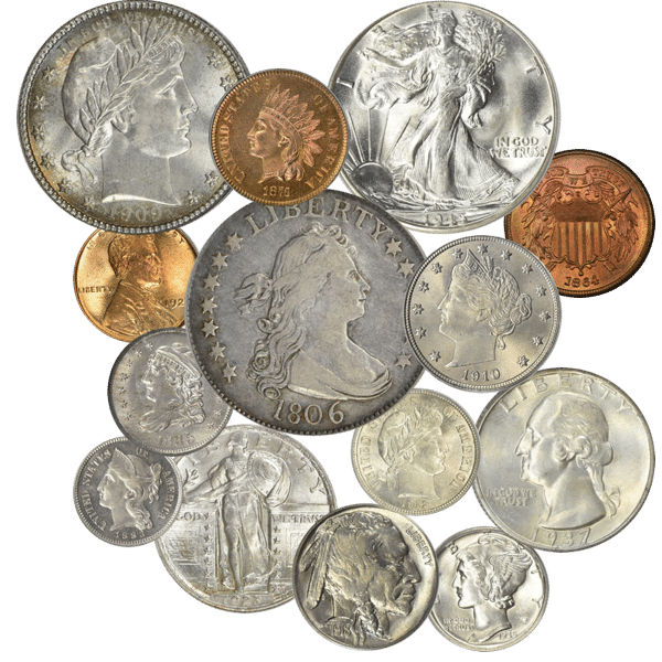 US Type Coins